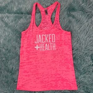 Jacked Health Racerback Tank Top